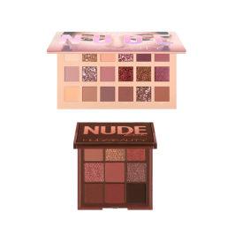【香港直邮】Huda Beauty裸妆18色沙漠玫瑰+裸妆9色眼影盘Rich
